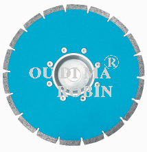 Segmented Saw Blade With Flange